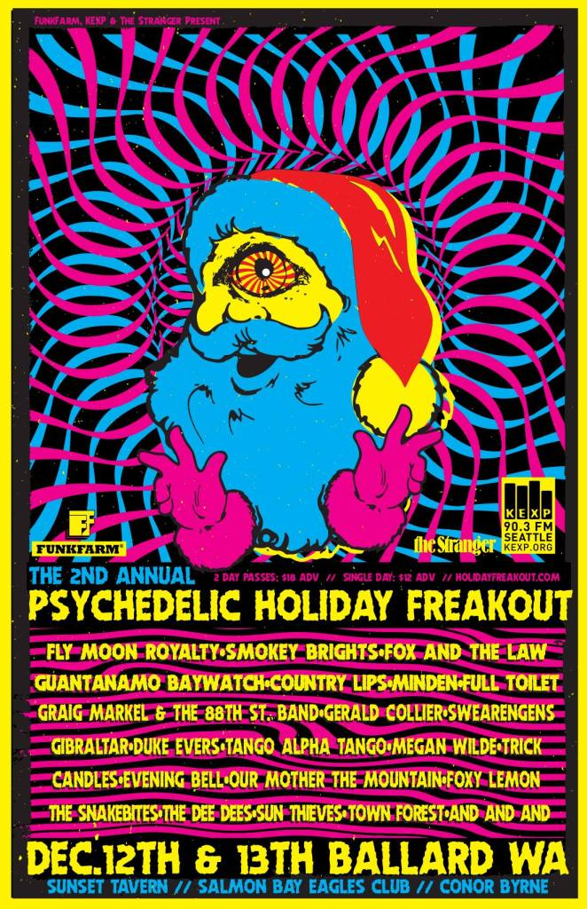 Psychedelic Holiday Freakout