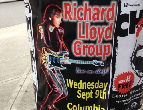 SEPT 9th with RICHARD LLOYD of TELEVISION